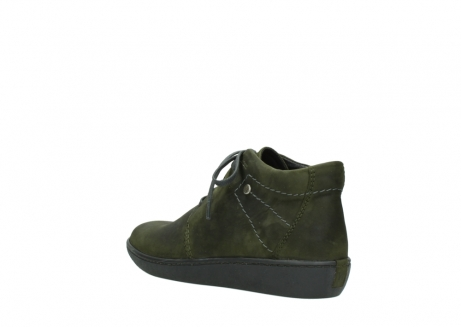 wolky lace up shoes 08126 babylon 50730 forest green oiled leather_4