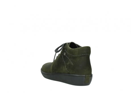 wolky lace up shoes 08126 babylon 50730 forest green oiled leather_5