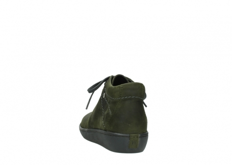 wolky lace up shoes 08126 babylon 50730 forest green oiled leather_6