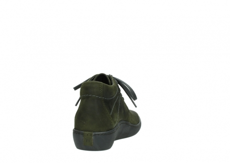 wolky lace up shoes 08126 babylon 50730 forest green oiled leather_8