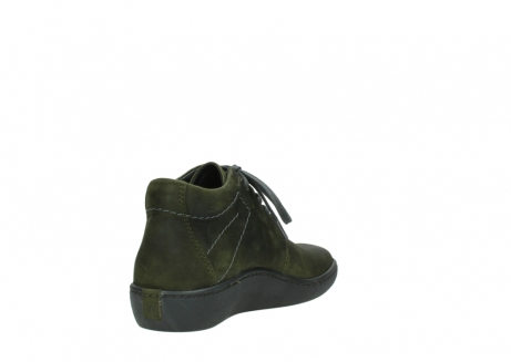 wolky lace up shoes 08126 babylon 50730 forest green oiled leather_9