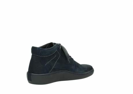 wolky lace up shoes 08126 babylon 50800 dark blue oiled nubuck_10