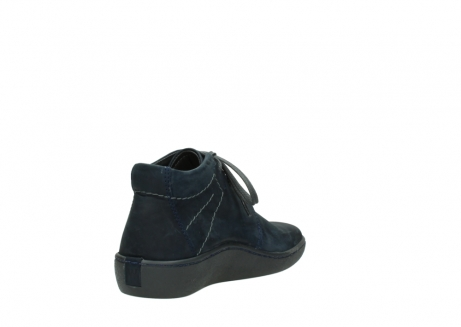 wolky lace up shoes 08126 babylon 50800 dark blue oiled nubuck_9