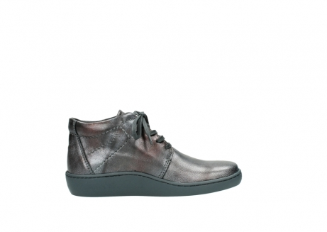 wolky veterschoenen 08126 babylon 90210 antraciet metallic leer_13