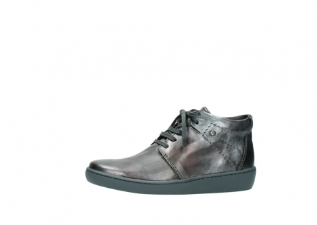 wolky veterschoenen 08126 babylon 90210 antraciet metallic leer_24