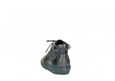 wolky veterschoenen 08126 babylon 90210 antraciet metallic leer_6