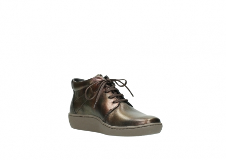 wolky lace up shoes 08126 babylon 90320 bronze metallic leather_16