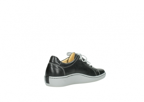 wolky lace up shoes 08128 gizeh 30070 black summer leather_10