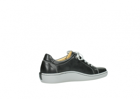 wolky lace up shoes 08128 gizeh 30070 black summer leather_11
