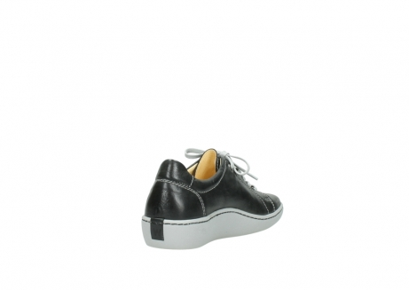 wolky lace up shoes 08128 gizeh 30070 black summer leather_9