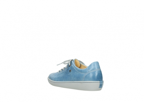 wolky lace up shoes 08128 gizeh 30820 denim blue leather_4