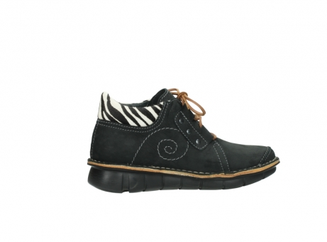 wolky chaussures a lacets 08384 gallo 10070 cuir noir zebre_12