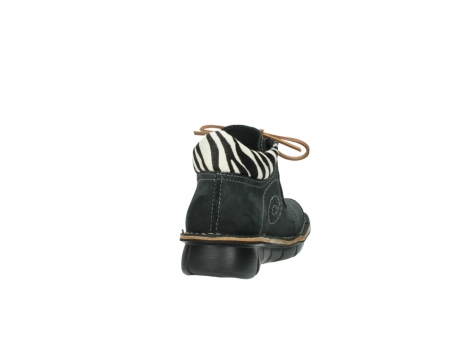 wolky chaussures a lacets 08384 gallo 10070 cuir noir zebre_8