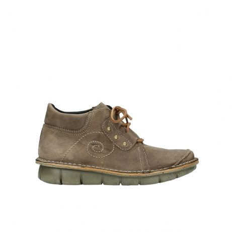 wolky chaussures a lacets 08384 gallo 10150 nubuck taupe