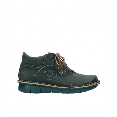 wolky chaussures a lacets 08384 gallo 10220 nubuck gris