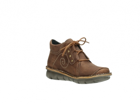 wolky chaussures a lacets 08384 gallo 10430 nubuck cognac_16