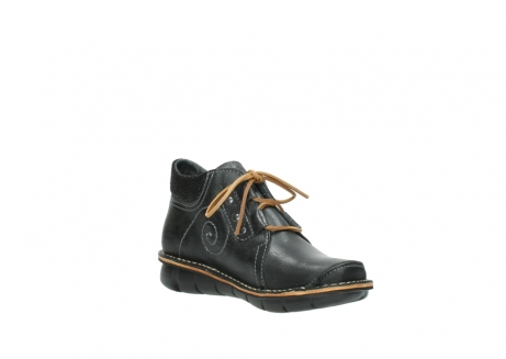 wolky veterschoenen 08384 gallo 50000 zwart geolied leer_16