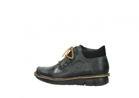 wolky veterschoenen 08384 gallo 50000 zwart geolied leer_2