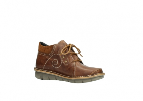 wolky chaussures a lacets 08384 gallo 50430 cuir cognac_15