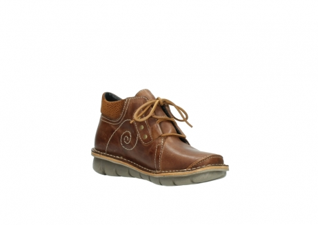 wolky chaussures a lacets 08384 gallo 50430 cuir cognac_16