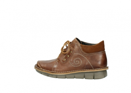 wolky chaussures a lacets 08384 gallo 50430 cuir cognac_2