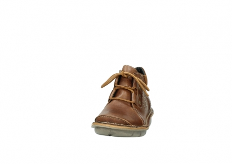 wolky chaussures a lacets 08384 gallo 50430 cuir cognac_20