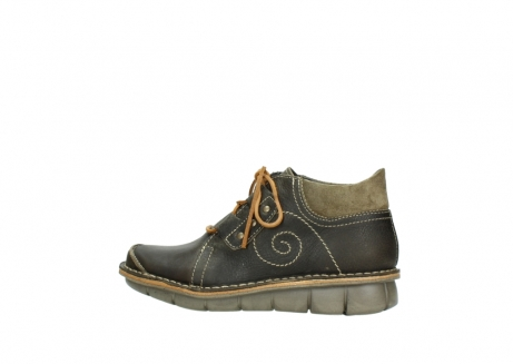 wolky veterschoenen 08384 gallo 50730 forest groen geolied leer_2