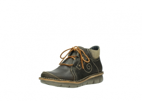 wolky veterschoenen 08384 gallo 50730 forest groen geolied leer_22