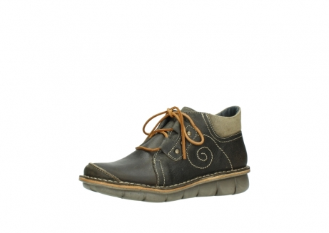wolky veterschoenen 08384 gallo 50730 forest groen geolied leer_23