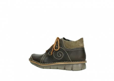 wolky veterschoenen 08384 gallo 50730 forest groen geolied leer_3