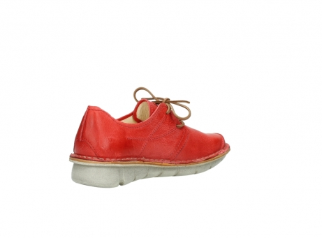 wolky lace up shoes 08387 milton 30500 red leather_10