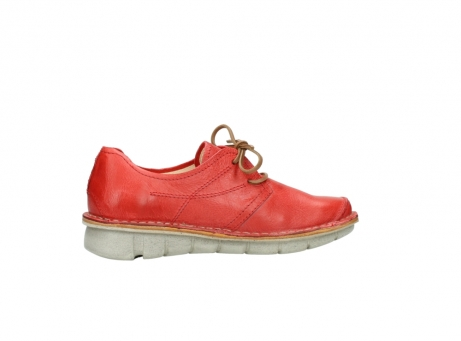 wolky lace up shoes 08387 milton 30500 red leather_12