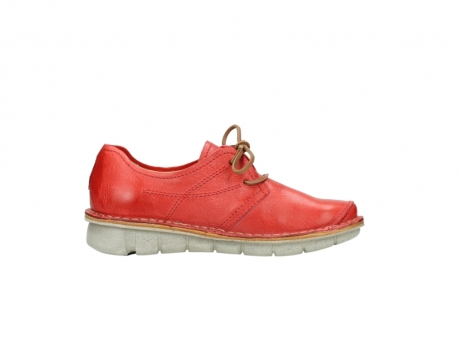 wolky lace up shoes 08387 milton 30500 red leather_13