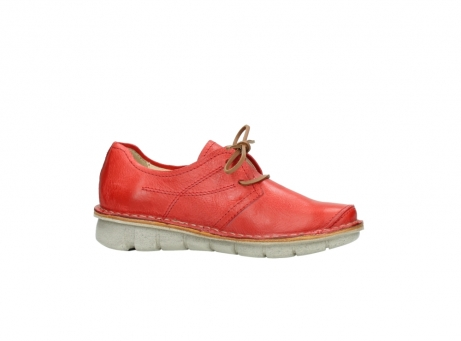 wolky lace up shoes 08387 milton 30500 red leather_14