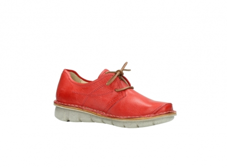 wolky lace up shoes 08387 milton 30500 red leather_15