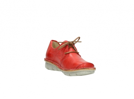 wolky lace up shoes 08387 milton 30500 red leather_17