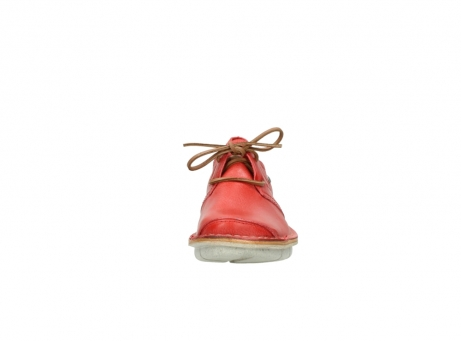 wolky lace up shoes 08387 milton 30500 red leather_19