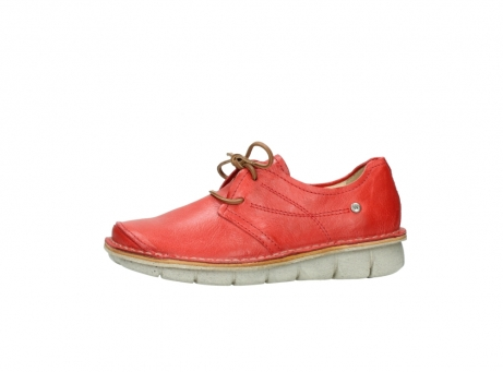 wolky lace up shoes 08387 milton 30500 red leather_24