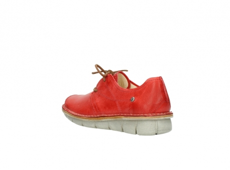 wolky lace up shoes 08387 milton 30500 red leather_4