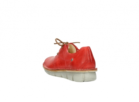 wolky lace up shoes 08387 milton 30500 red leather_5