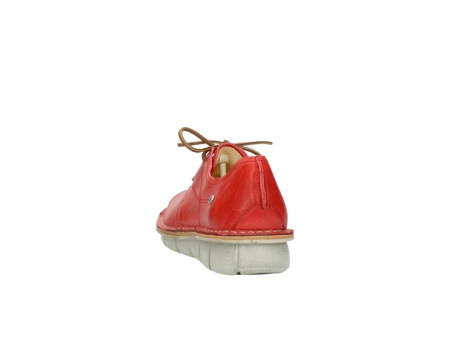 wolky lace up shoes 08387 milton 30500 red leather_6