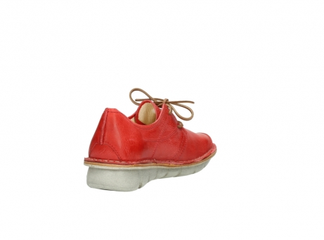 wolky lace up shoes 08387 milton 30500 red leather_9