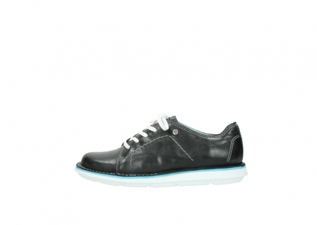wolky lace up shoes 08475 coal 30070 black summer leather_1