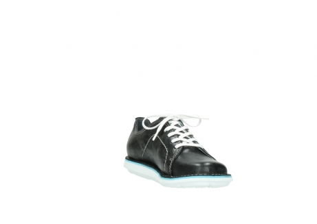wolky lace up shoes 08475 coal 30070 black summer leather_17