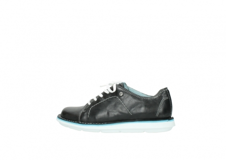 wolky lace up shoes 08475 coal 30070 black summer leather_2