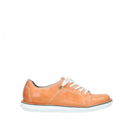 wolky lace up shoes 08475 coal 30540 peach leather