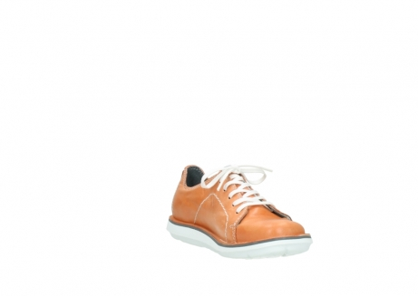 wolky lace up shoes 08475 coal 30540 peach leather_17