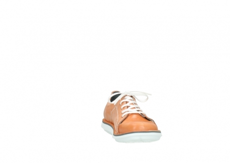 wolky lace up shoes 08475 coal 30540 peach leather_18