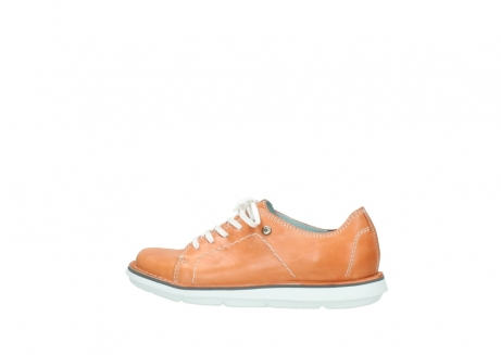 wolky lace up shoes 08475 coal 30540 peach leather_2