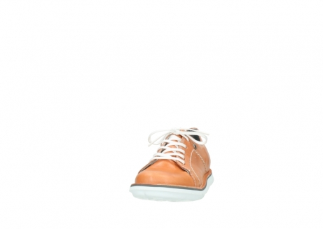 wolky lace up shoes 08475 coal 30540 peach leather_20